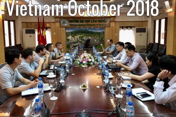 Vietnam october 2018