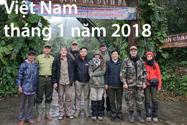 Việt Nam tháng 1 năm 2018