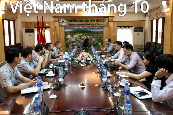 Việt Nam tháng 10 năm 2018