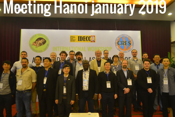 Meeting Hanoi january 2019