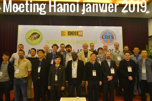 Meeting Hanoi janvier 2019